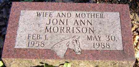 MORRISON, JONI ANN - Grand Traverse County, Michigan | JONI ANN MORRISON - Michigan Gravestone Photos