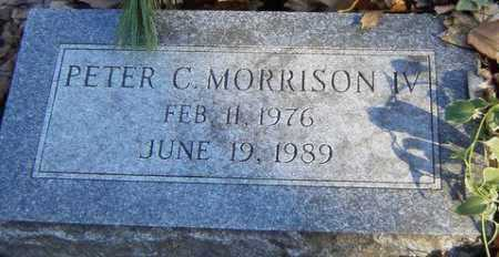 MORRISON, PETER C. - Grand Traverse County, Michigan | PETER C. MORRISON - Michigan Gravestone Photos