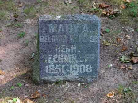 NEWMARCH, MARGARET - Grand Traverse County, Michigan | MARGARET NEWMARCH - Michigan Gravestone Photos