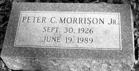 PETER C., MORRISON - Grand Traverse County, Michigan | MORRISON PETER C. - Michigan Gravestone Photos