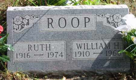 ROOP, WILLIAM H. - Grand Traverse County, Michigan | WILLIAM H. ROOP - Michigan Gravestone Photos