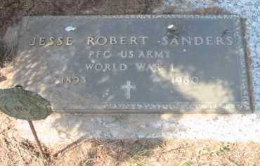 SANDERS, JESSE ROBERT - Grand Traverse County, Michigan   JESSE ROBERT SANDERS - Michigan Gravestone Photos