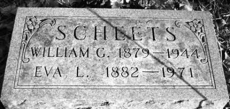 SCHEETS, WILLIAM G. - Grand Traverse County, Michigan | WILLIAM G. SCHEETS - Michigan Gravestone Photos
