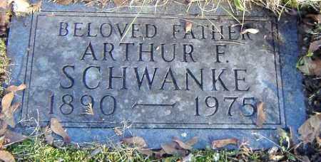 SCHWANKE, ARTHUR F. - Grand Traverse County, Michigan | ARTHUR F. SCHWANKE - Michigan Gravestone Photos