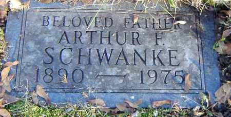 SCHWANKE, ARTHUR F. - Grand Traverse County, Michigan | ARTHUR F. SCHWANKE - Michigan Gravestone Photos
