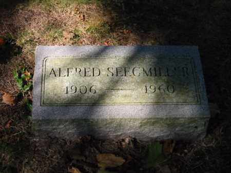 SEEGMILLER, ALFRED - Grand Traverse County, Michigan | ALFRED SEEGMILLER - Michigan Gravestone Photos