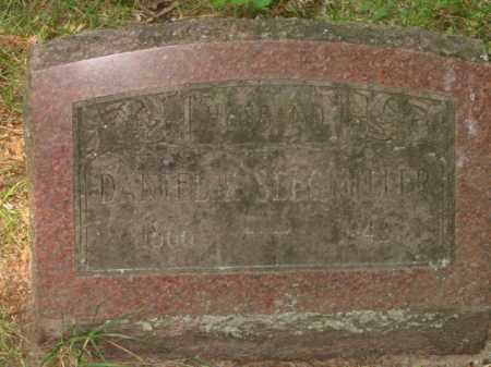 SEEGMILLER, DAVID - Grand Traverse County, Michigan | DAVID SEEGMILLER - Michigan Gravestone Photos