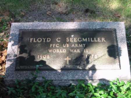 SEEGMILLER, FLOYD C - Grand Traverse County, Michigan | FLOYD C SEEGMILLER - Michigan Gravestone Photos