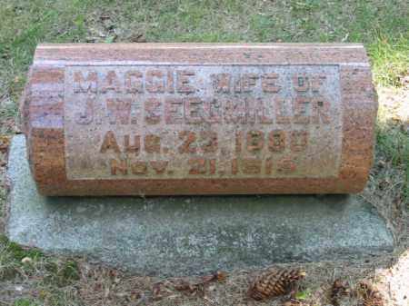 SEEGMILLER, MAGGIE - Grand Traverse County, Michigan | MAGGIE SEEGMILLER - Michigan Gravestone Photos