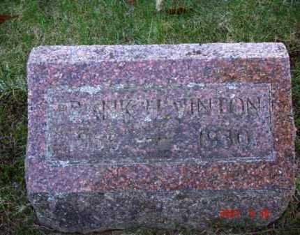 VINTON, FRANK H. - Grand Traverse County, Michigan | FRANK H. VINTON - Michigan Gravestone Photos