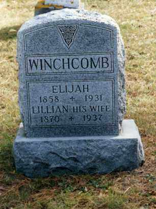 COOK WINCHCOMB, LILLIAN - Grand Traverse County, Michigan | LILLIAN COOK WINCHCOMB - Michigan Gravestone Photos