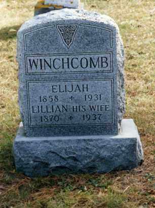 COOK WINCHCOMB, LILLIAN - Grand Traverse County, Michigan | LILLIAN COOK WINCHCOMB - Michigan Gravestone Photos