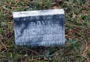WINCHCOMB, ROY - Grand Traverse County, Michigan | ROY WINCHCOMB - Michigan Gravestone Photos