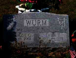 WURM, EMMA E. - Grand Traverse County, Michigan | EMMA E. WURM - Michigan Gravestone Photos