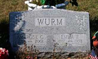 WURM, EMMA E. - Grand Traverse County, Michigan   EMMA E. WURM - Michigan Gravestone Photos