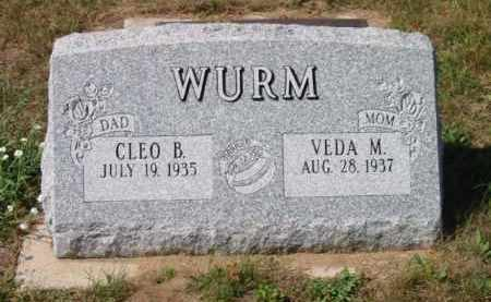 WURM, VEDA - Grand Traverse County, Michigan | VEDA WURM - Michigan Gravestone Photos
