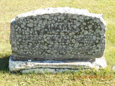 ADAMS, MABEL - Hillsdale County, Michigan | MABEL ADAMS - Michigan Gravestone Photos