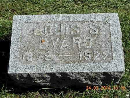 BYARD, LOUIS S. - Hillsdale County, Michigan   LOUIS S. BYARD - Michigan Gravestone Photos