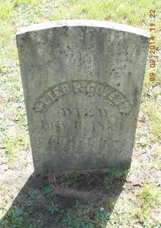 COVERT, PETER P. - Hillsdale County, Michigan | PETER P. COVERT - Michigan Gravestone Photos