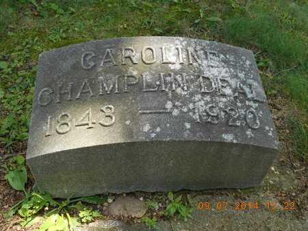 DEAL, CAROLINE - Hillsdale County, Michigan | CAROLINE DEAL - Michigan Gravestone Photos
