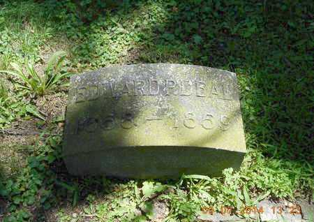 DEAL, EDWARD P. - Hillsdale County, Michigan | EDWARD P. DEAL - Michigan Gravestone Photos