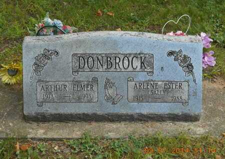 "DONBROCK, ARLENE ESTHER ""SALLY"" - Hillsdale County, Michigan 