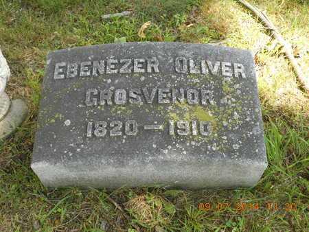 GROSVENOR, EBENEZER OLIVER - Hillsdale County, Michigan | EBENEZER OLIVER GROSVENOR - Michigan Gravestone Photos