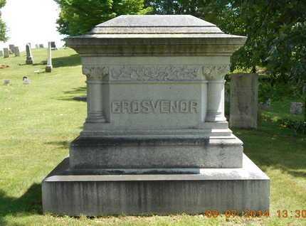 GROSVENOR, FAMILY - Hillsdale County, Michigan | FAMILY GROSVENOR - Michigan Gravestone Photos