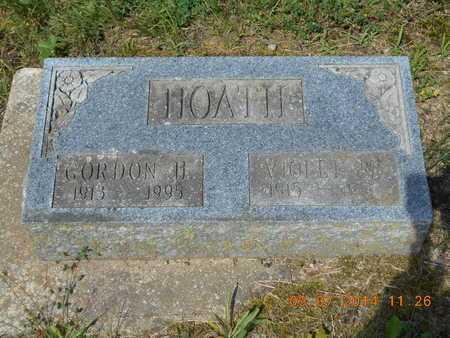 HOATH, GORDON H. - Hillsdale County, Michigan   GORDON H. HOATH - Michigan Gravestone Photos