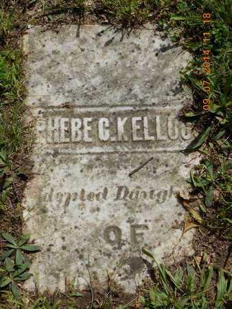 KELLOGG, PHEBE C. - Hillsdale County, Michigan | PHEBE C. KELLOGG - Michigan Gravestone Photos