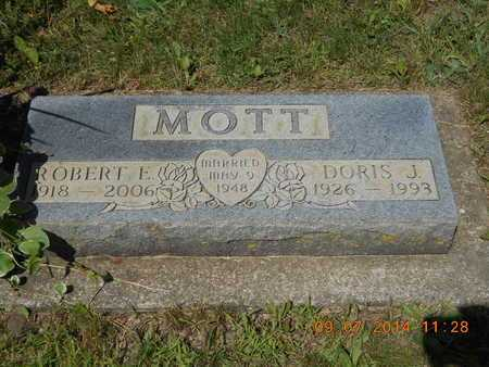 MOTT, DORIS J. - Hillsdale County, Michigan | DORIS J. MOTT - Michigan Gravestone Photos