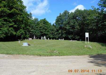 OVERVIEW, CEMETERY - Hillsdale County, Michigan | CEMETERY OVERVIEW - Michigan Gravestone Photos