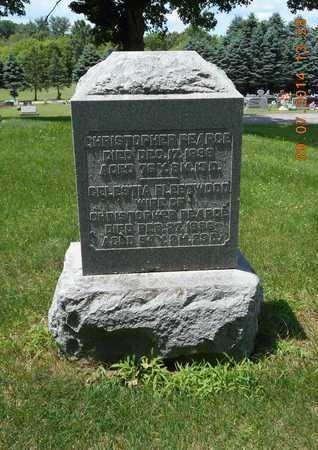 FLEETWOOD PEARCE, CELESTIA - Hillsdale County, Michigan | CELESTIA FLEETWOOD PEARCE - Michigan Gravestone Photos