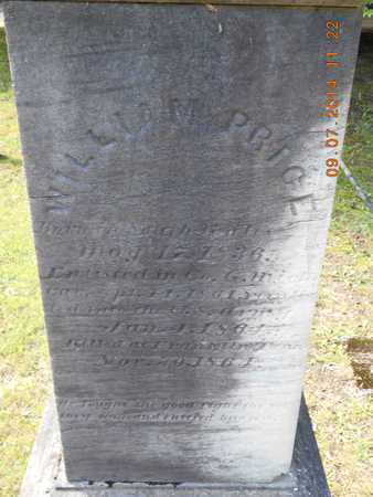 PRICE, WILLIAM M. - Hillsdale County, Michigan | WILLIAM M. PRICE - Michigan Gravestone Photos