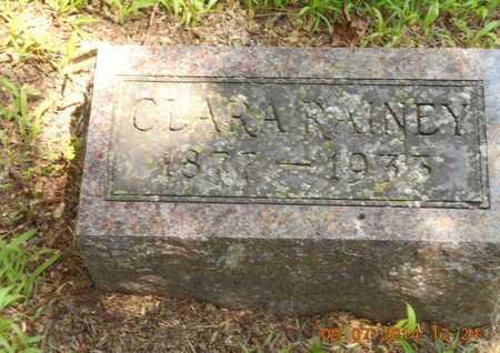 RAINEY, CLARA - Hillsdale County, Michigan | CLARA RAINEY - Michigan Gravestone Photos