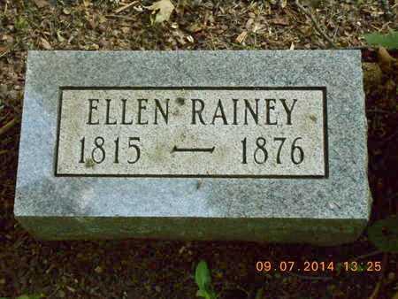 RAINEY, ELLEN - Hillsdale County, Michigan | ELLEN RAINEY - Michigan Gravestone Photos