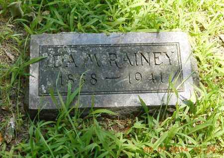 RAINEY, IDA M. - Hillsdale County, Michigan | IDA M. RAINEY - Michigan Gravestone Photos