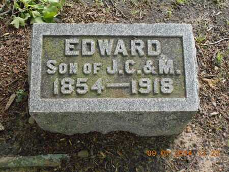 SCHAUPPNER, EDWARD - Hillsdale County, Michigan | EDWARD SCHAUPPNER - Michigan Gravestone Photos