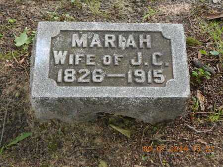 SCHAUPPNER, MARIAH - Hillsdale County, Michigan | MARIAH SCHAUPPNER - Michigan Gravestone Photos