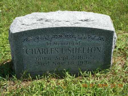 SHELTON, CHARLES L. - Hillsdale County, Michigan | CHARLES L. SHELTON - Michigan Gravestone Photos