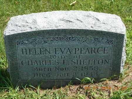PEARCE SHELTON, HELEN EVA - Hillsdale County, Michigan | HELEN EVA PEARCE SHELTON - Michigan Gravestone Photos