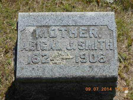 SMITH, ABIGAIL J. - Hillsdale County, Michigan | ABIGAIL J. SMITH - Michigan Gravestone Photos