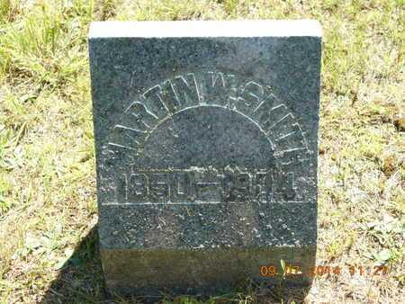 SMITH, MARTIN W. - Hillsdale County, Michigan | MARTIN W. SMITH - Michigan Gravestone Photos