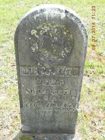 STITT, JOHN B. - Hillsdale County, Michigan | JOHN B. STITT - Michigan Gravestone Photos