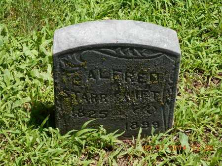SWIFT, ALFRED STARR - Hillsdale County, Michigan | ALFRED STARR SWIFT - Michigan Gravestone Photos
