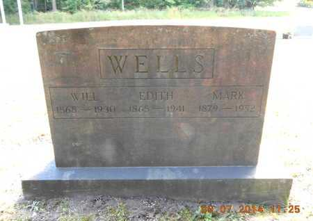 WELLS, EDITH - Hillsdale County, Michigan | EDITH WELLS - Michigan Gravestone Photos