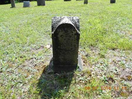 WOODARD, BARNARD A. - Hillsdale County, Michigan | BARNARD A. WOODARD - Michigan Gravestone Photos