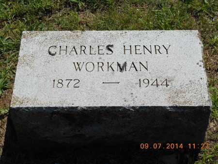 WORKMAN, CHARLES HENRY - Hillsdale County, Michigan | CHARLES HENRY WORKMAN - Michigan Gravestone Photos