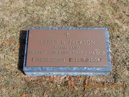 JACKSON, CAROL R. - Iron County, Michigan | CAROL R. JACKSON - Michigan Gravestone Photos