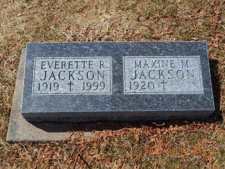 JACKSON, EVERETTE R. - Iron County, Michigan | EVERETTE R. JACKSON - Michigan Gravestone Photos